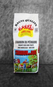 Charbon de bois| sac de 50L Haute Qualité