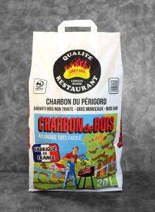 Charbon de bois | sac de 20L Qualité Restaurant