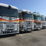Camions parking