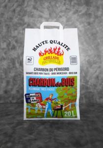 Charbon du Bois| sac de 20L Haute Qualité | Charbon du Périgord | PEFC | Fabriqué en France