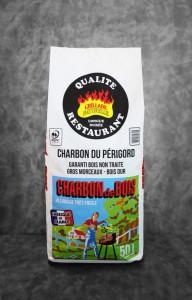 Charbon du Bois| sac de 50L Qualité Restaurant | Charbon du Périgord | PEFC | Fabriqué en France