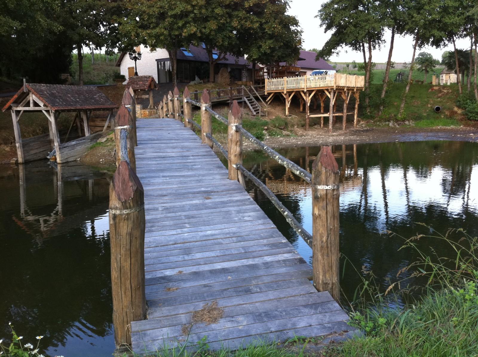 Pont au rondin