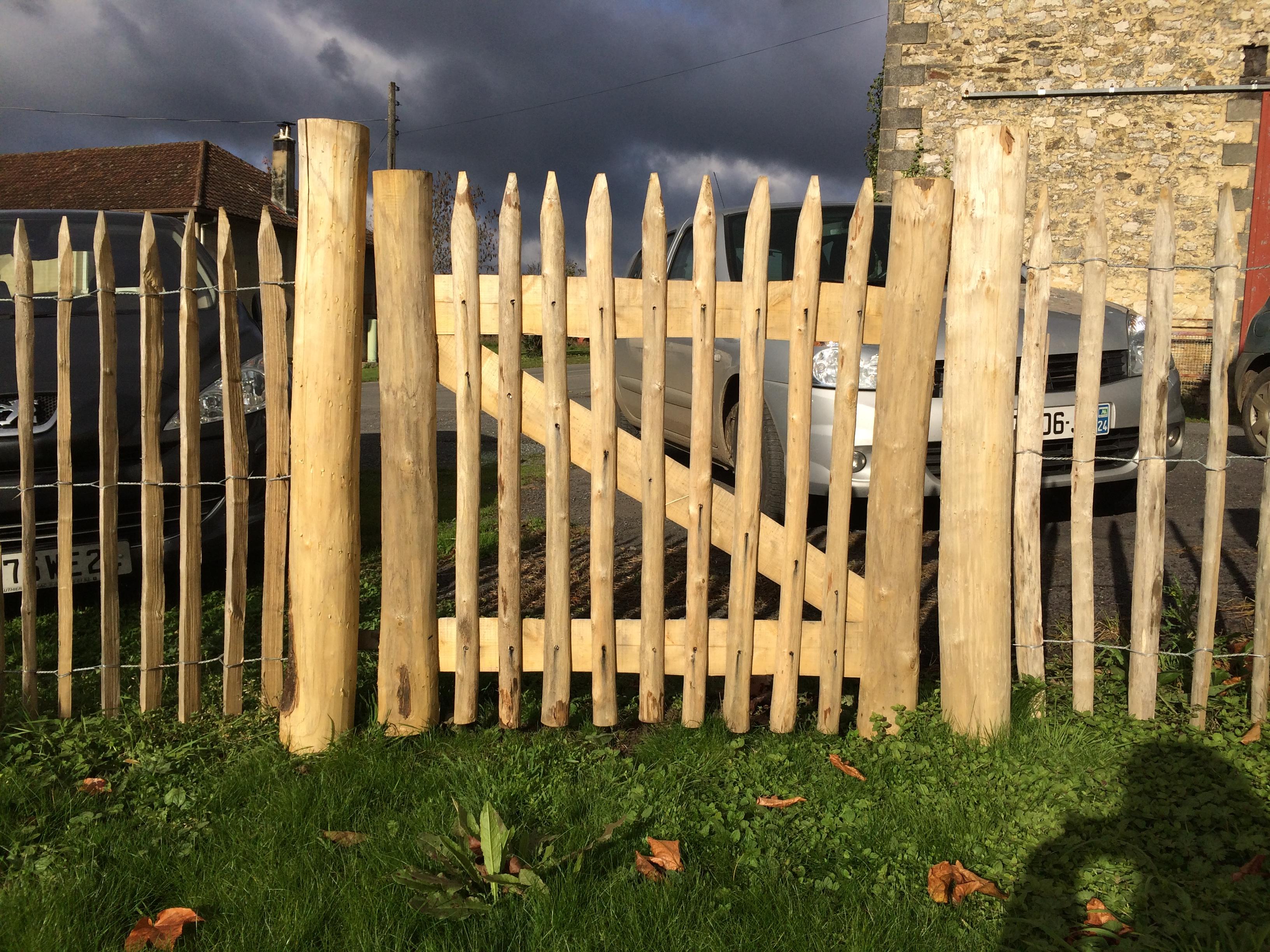 Awesome Fabriquer Une Porte De Jardin En Bois Ideas Design Trends